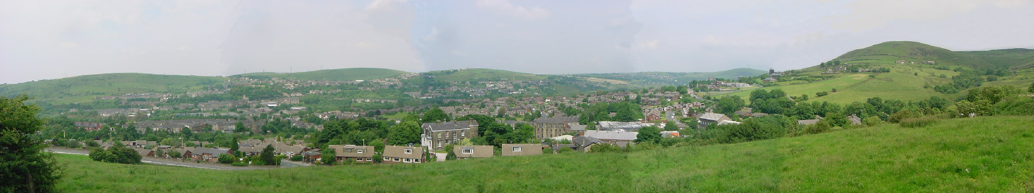 Panoramic Photo of Mossley